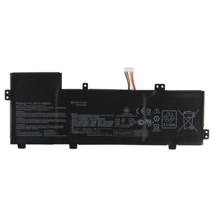 Compatible laptop battery ASUS  for ZenBook-UX510UW-CN114R