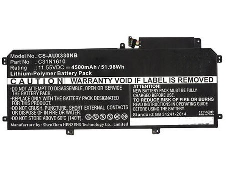 Compatible laptop battery asus  for 3ICP3/97/103
