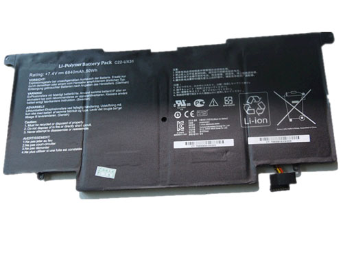 Compatible laptop battery asus  for ZenBook-UX31A-Series