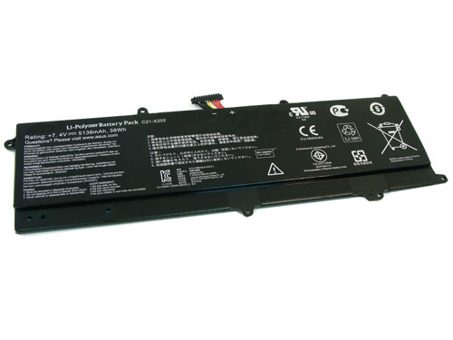 Compatible laptop battery asus  for c21-x202