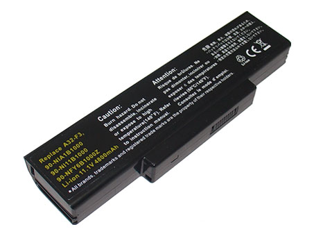 Compatible laptop battery asus  for F3L