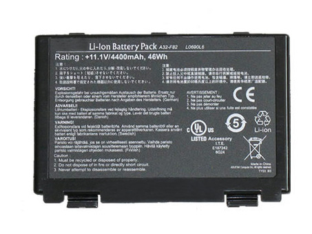 Compatible laptop battery asus  for K40