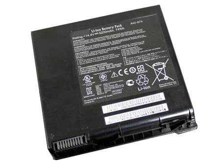 Compatible laptop battery asus  for G74SX-91079V