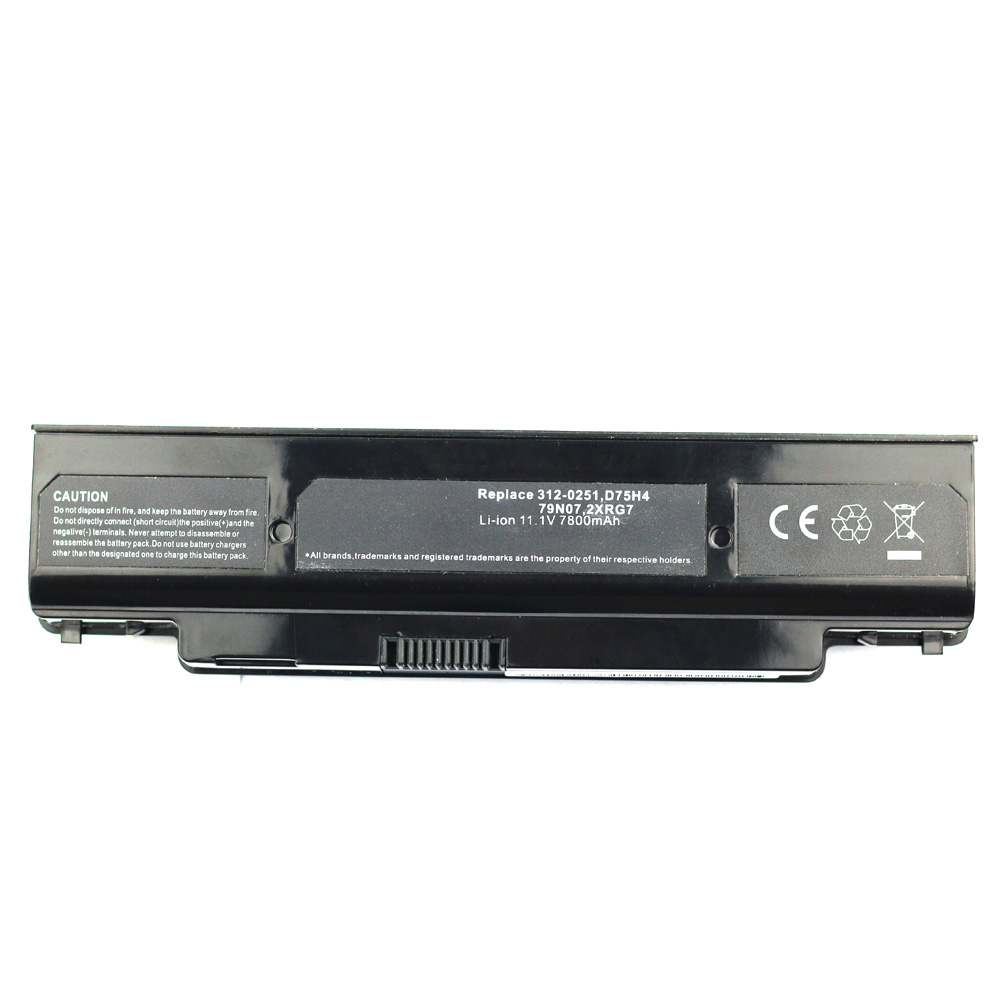 Compatible laptop battery dell  for D75H4