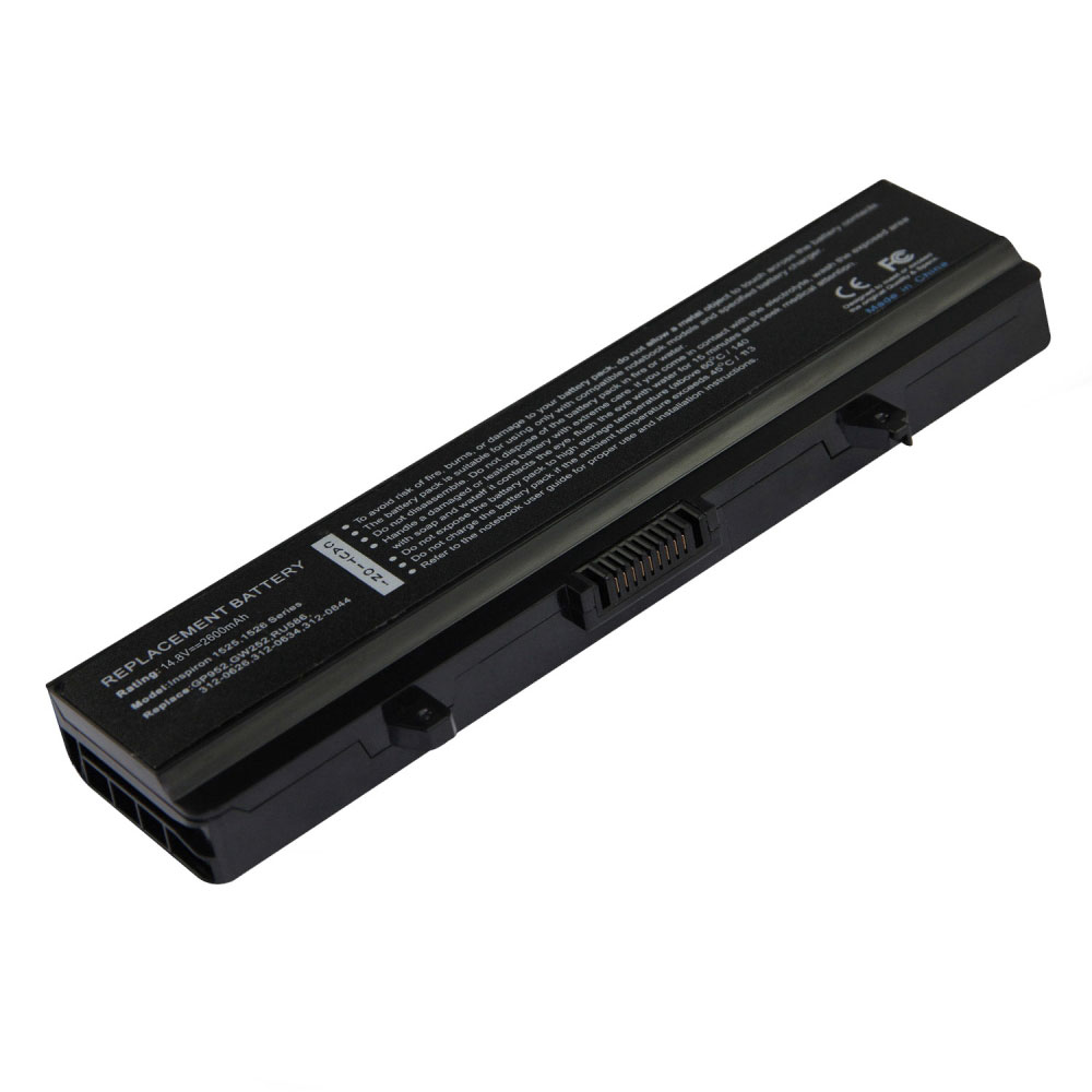 Compatible laptop battery dell  for 312-0940