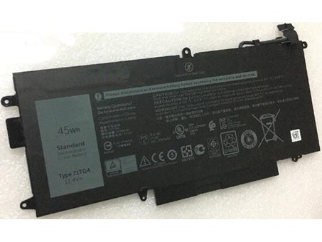Compatible laptop battery dell  for 71TG4