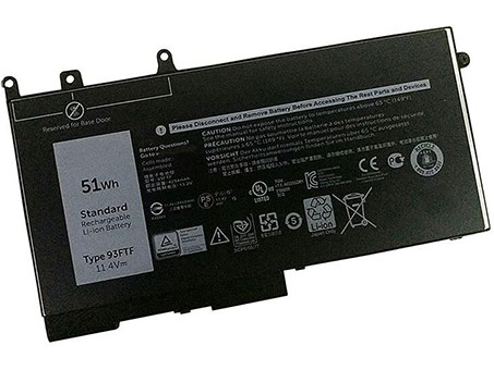 Compatible laptop battery dell  for 83XPC