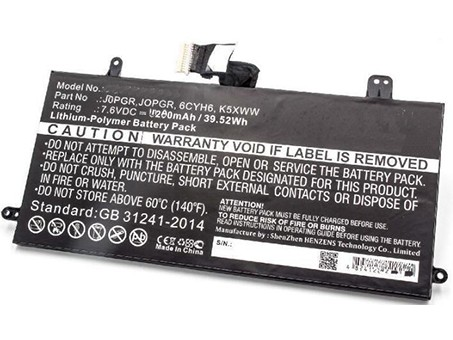 Compatible laptop battery dell  for 6CYH6