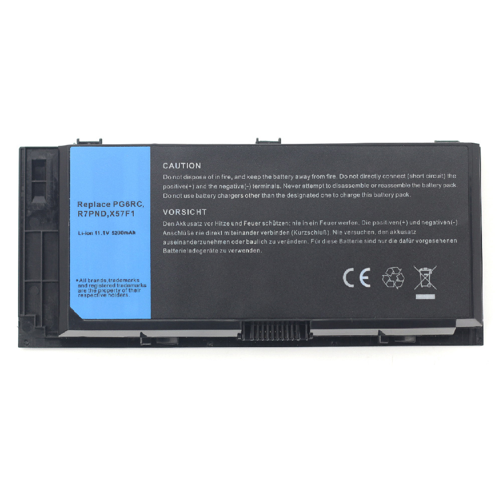 Compatible laptop battery dell  for Precision-M4600