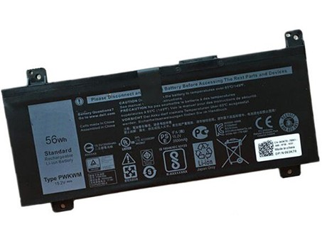 Compatible laptop battery dell  for PWKWM