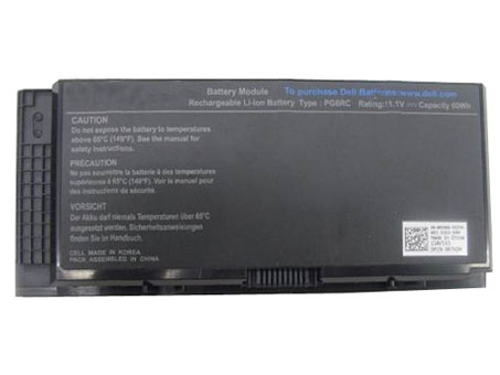Compatible laptop battery dell  for Precision M4800 series