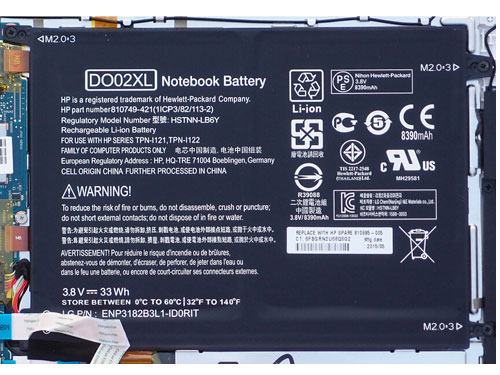 Compatible laptop battery hp  for DO02XL