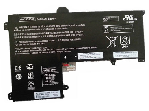Compatible laptop battery hp  for MA02025XL