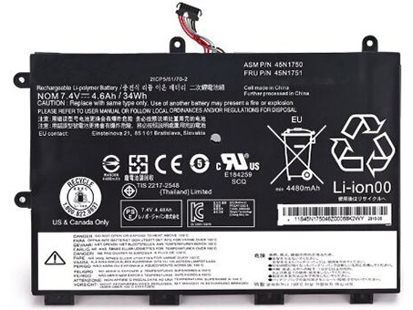 Compatible laptop battery lenovo  for 45N1748