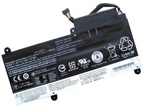 Compatible laptop battery lenovo  for 45N1754