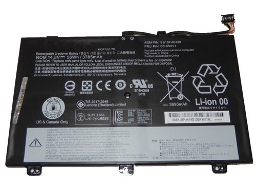 Compatible laptop battery lenovo  for ThinkPad-S3-Yoga-Series
