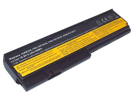 Compatible laptop battery lenovo  for 42T4543