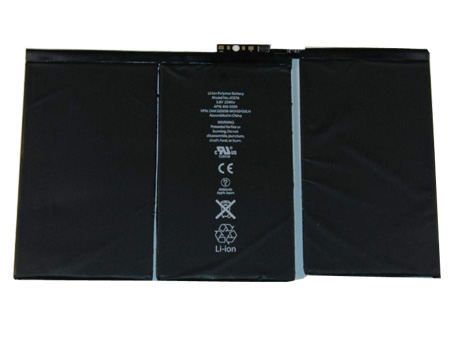 Compatible laptop battery apple  for iPad 2 16GB Wi-Fi   3G