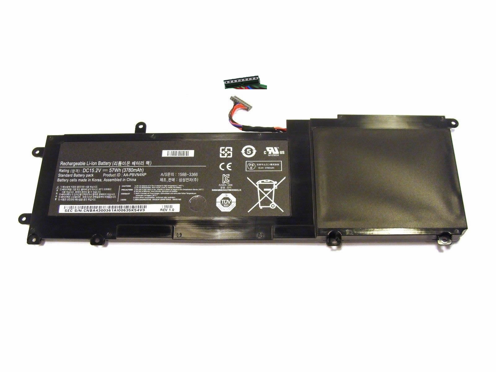Compatible laptop battery samsung  for NP670Z5E-X01HS